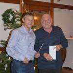 Verabschiedung von Hans Dullinger - Gründungsvorsitzender des Theatervereins und langjähriges Vorstandsmitglied